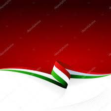 Green Red And White Flag červená Bílá Zelená U2014 Stock Vektor Zagandesign 28341773