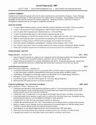 project manager resume template project manager resume templates new great electrical engineer