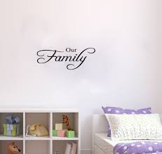 sticker paper for printer picture more detailed picture about our family wall decals vinyl stickers home decor living room decorative stickers bedroom wallpaper quote decoration