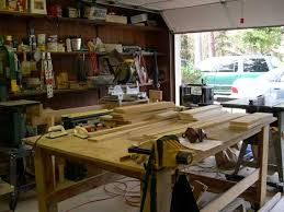 simple and free garage workshop plans for woodworkers