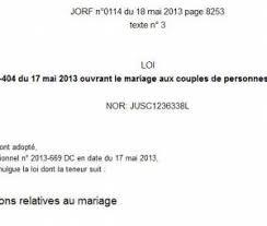 loi du mariage pour tous françois hollande photos et diaporamas