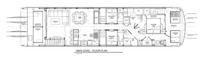 Houseboat Floor Plans Tranquility Sunrise Peak