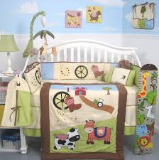 Baby Crib Decoration by Baby Nursery Decor Room Full Of Sunlight With Wooden Material