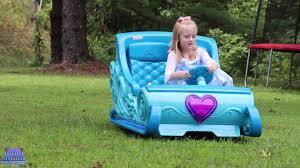 power wheels jeep frozen disney frozen 2 sleigh ride on power wheels 12v princess carriage