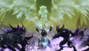 the guild wars 2 mmo today went free to play ahead of its upcoming