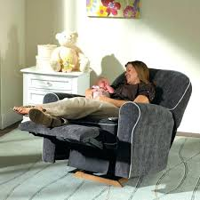Reclining Rocking Chair Nursery Fashionable Recliner For Nursery Photo 6 Of Best Rocking Chairs