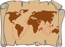 treasure map clipart treasure map clip image 3112