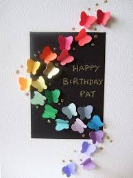 butterfly card scrapbook pinterest birthday cards