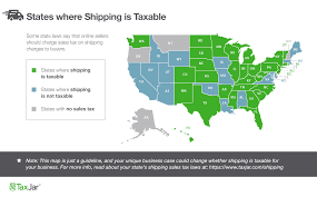 2016 optional state sales tax table is shipping taxable