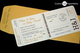 boarding pass invitations custom designed passport and boarding pass invitations boarding