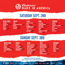 everything you need to know about made in america day one