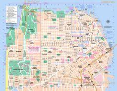 san francisco map for tourist image from http www sparkletack wp content img cool img