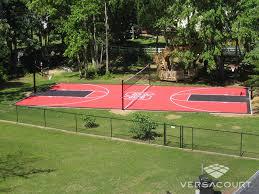 Sports Courts For Backyards Delightful Ideas Basketball Court Backyard Marvelous Backyard