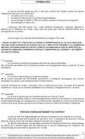 contrat d apprentissage chambre des m騁iers chambre de métiers et de l artisanat de vaucluse bp avignon cedex 1