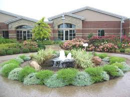 garden ideas for front yard sloped front yard landscaping and