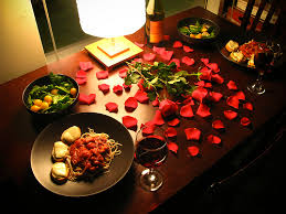 Home Dinner Ideas After You Prepare Your Meal Enjoy It In A Casual Romantic And