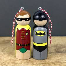 batman robin ornaments ornaments