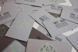 seed cards fpo salt seed business cards