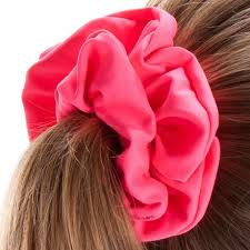 hair scrunchie swimming hair scrunchie pink nabaiji