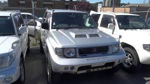 mitsubishi pajero evolution and pajero io on velocity lot for sale