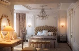 romantic bedroom idea with classy drapery also red paint idea with