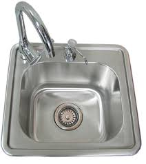 amazon com sunstone a ss17 single sink with and cold water