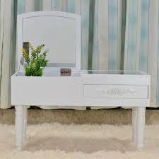 Dressers For Makeup Modern Mini Dressing Table Mirrored Dresser Makeup Vanity Table