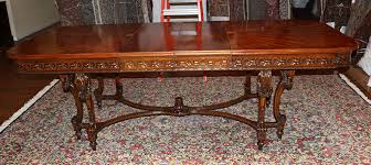 antique looking dining tables new antique dining table inside large french farmhouse sold