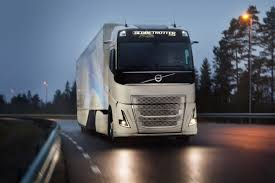 volvo tractor trailer volvo concept truck uses hybrid power to cut fuel use emissions
