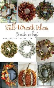 fall wreath ideas fall wreath ideas to buy or make artsy rule