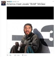 Javale Mcgee Memes - shaq and javale mcgee get into heated exchange
