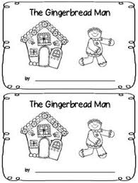 gingerbread man themed emergent readers plus other christmas and
