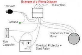 simple wiring diagram of fridge wiring diagram