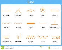 leaning line worksheet for children stock vector image 48710257