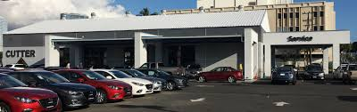 mazda car dealership service department cutter mazda honolulu