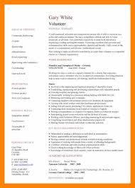 10 volunteer work on resume informal letter