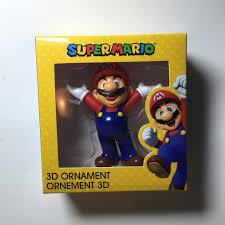 thecrimsoncollector i this 3d mario ornament i couldn t