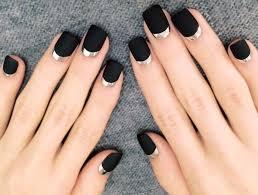 Black Manicure Designs Black Nails Archives Nail Designs
