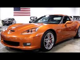 atomic orange corvette convertible for sale 2007 chevrolet corvette z06 convertible