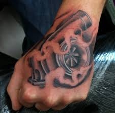 car tattoos 11 turbo tattoos that car guys will fall in love with