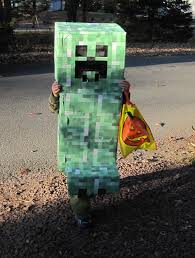 Minecraft Costume Halloween Minecraft Creeper Halloween Costume