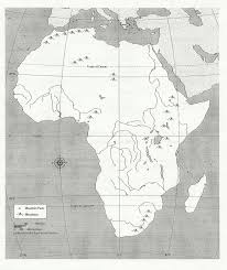Middle East And North Africa Map Quiz by Blank Africa Physical Map Too Cool For Pinterest