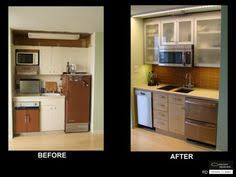 Small Basement Kitchen Ideas by An Ikea Basement Kitchenette With High Gloss Doors In Abstrakt