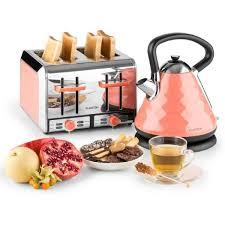 cuisiner avec une bouilloire klarstein curacao set petit déjeuner design avec bouilloire