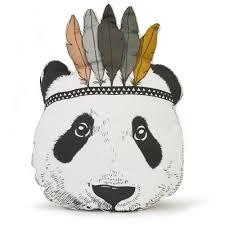 coussin chambre enfant minimel decoration chambre enfant coussin panda