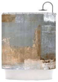 Brown And Gold Shower Curtains Amazing Grey And Gold Shower Curtain Contemporary Ideas House