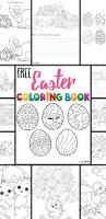 free easter coloring pages kids love