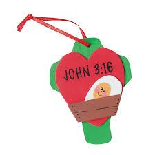 john 3 16 u201d christmas ornament craft kit orientaltrading com