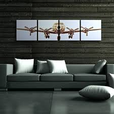 airplane home decor airplane home decor wall art designs contemporary 4 panels canvas