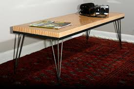 Plywood Coffee Table Items Similar To Maple Ply Coffee Table With Hairpin Legs